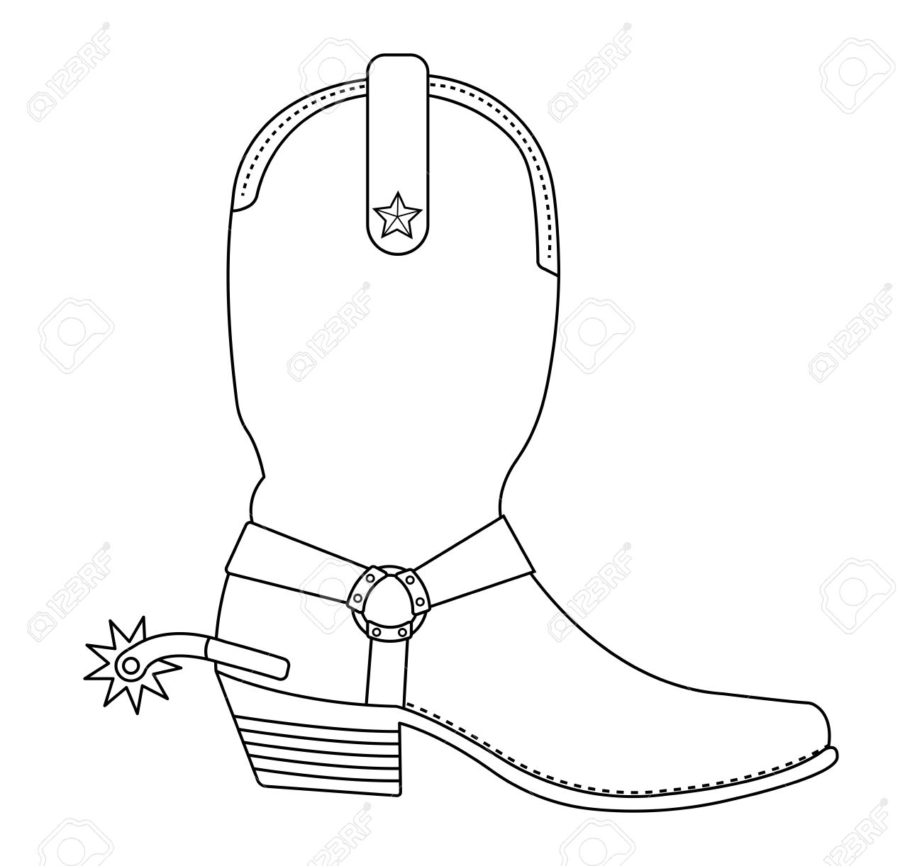 Clipart cowboy boot svg freeuse Free Western Boot Cliparts, Download Free Clip Art, Free Clip Art on ... svg freeuse