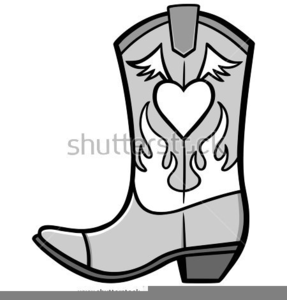 Clipart cowboy boot picture Boot Clipart Cowboy   Free Images at Clker.com - vector clip art ... picture