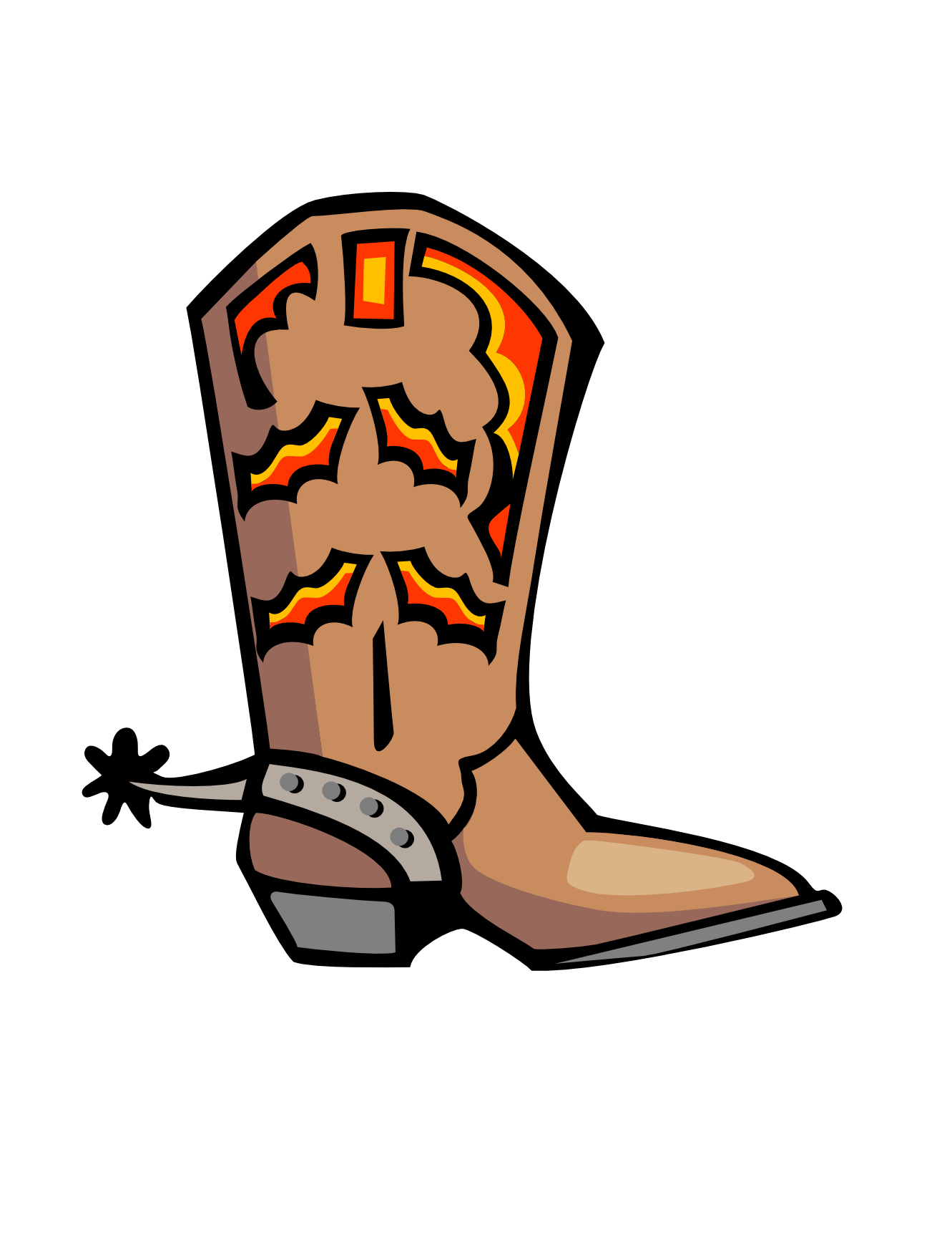 Clipart cowboy boots graphic library download Free Cowboy Boot Images, Download Free Clip Art, Free Clip Art on ... graphic library download