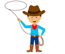 Clipart cowboys vector royalty free library Free Cowboys Clipart - Clip Art Pictures - Graphics - Illustrations vector royalty free library