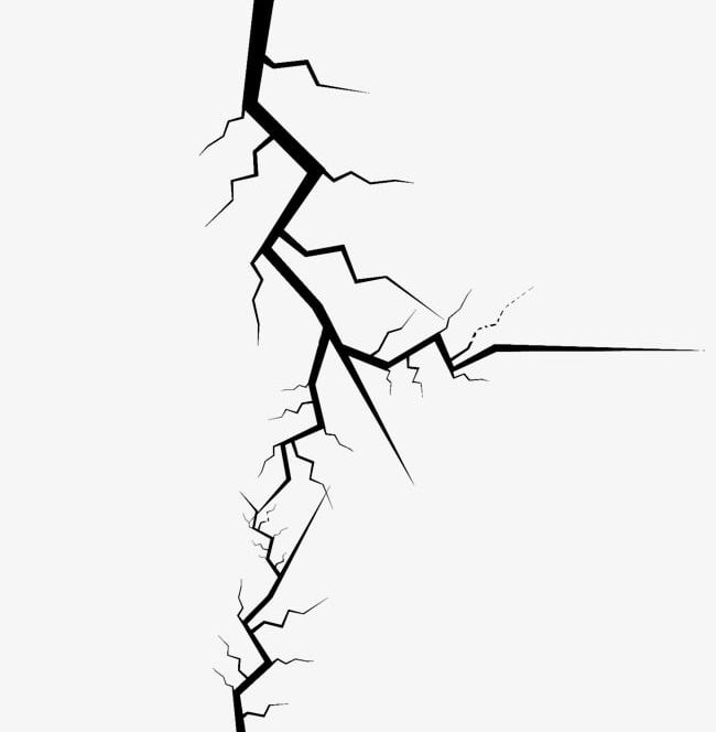 Clipart crack vector black and white stock Wall Cracks PNG, Clipart, Big, Big Hole, Crack, Cracked, Crack Free ... vector black and white stock