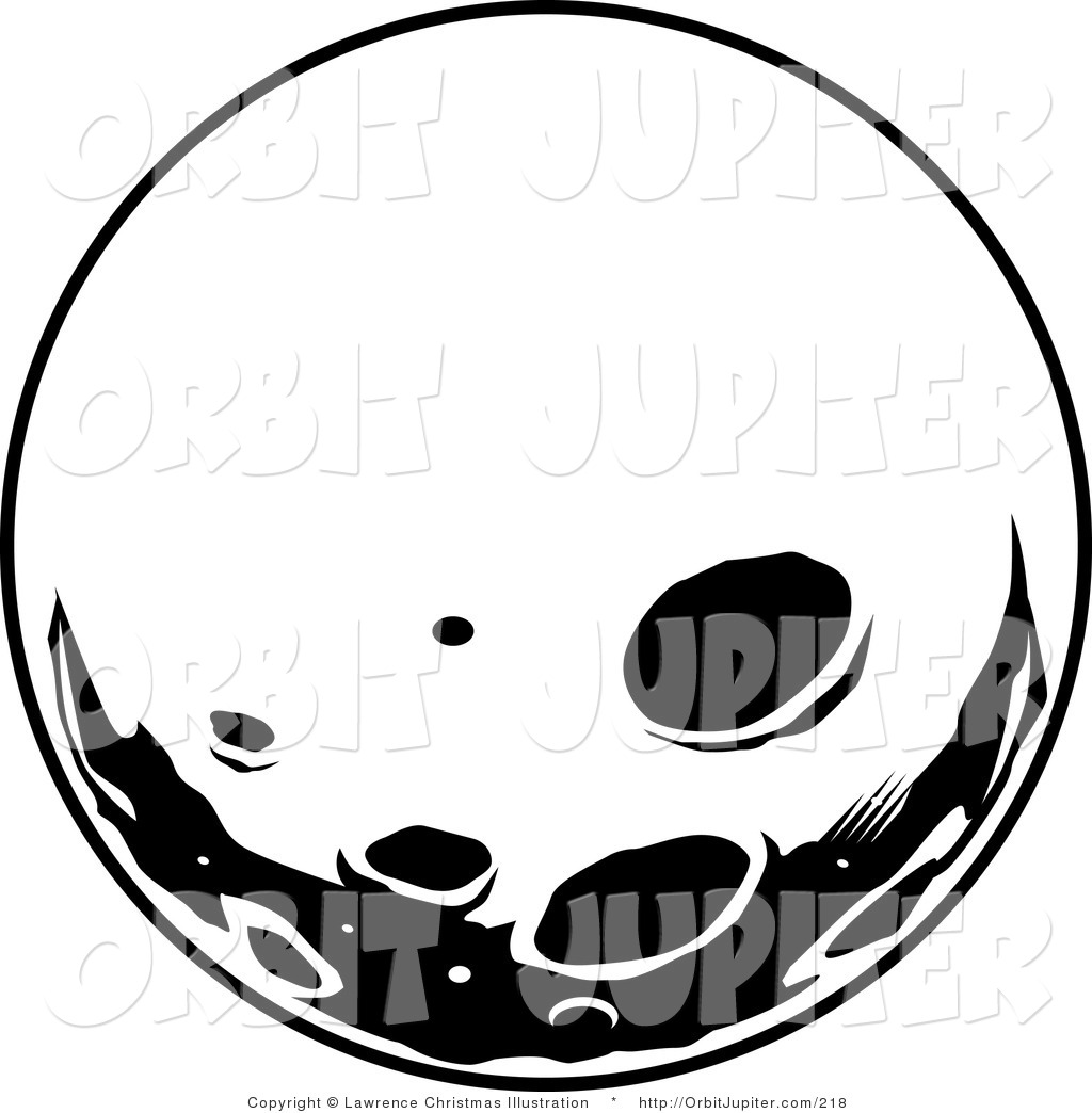 Clipart crater vector black and white download Craters on the Surface | Clipart Panda - Free Clipart Images vector black and white download