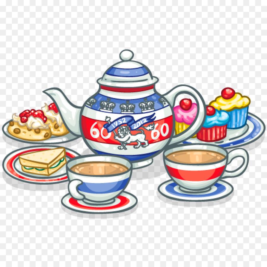 Clipart cream tea