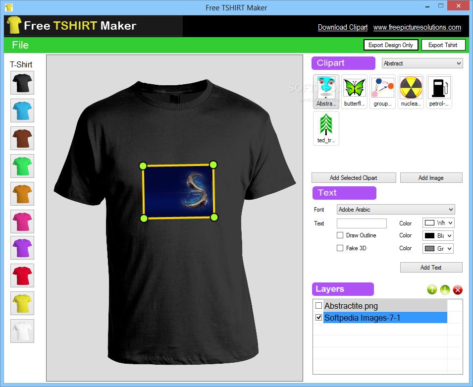 Clipart creator free jpg free stock Free TSHIRT Maker Download jpg free stock