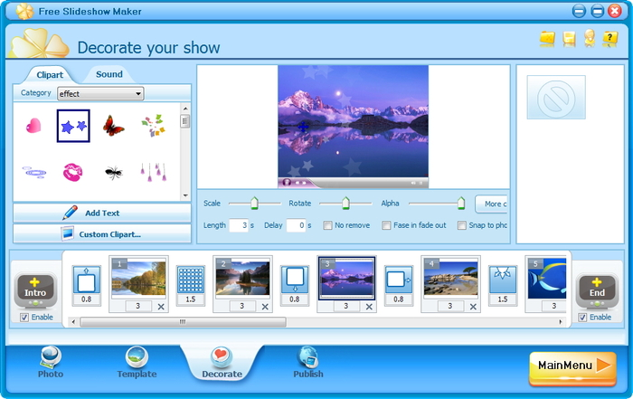 Clipart creator software graphic transparent stock Free Slideshow Maker - Download graphic transparent stock
