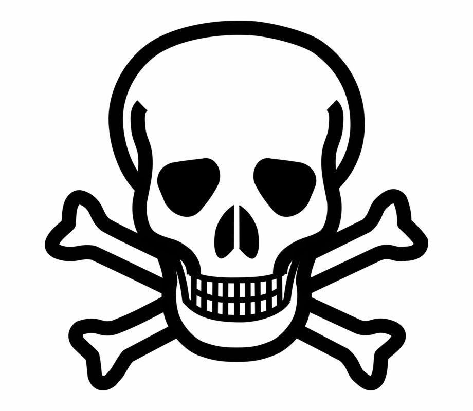 Clipart cross and skull bones png format transparent background clip art freeuse stock Cross Skull Danger Crossbones Bones Death\'s Skull - Skull Coloring ... clip art freeuse stock