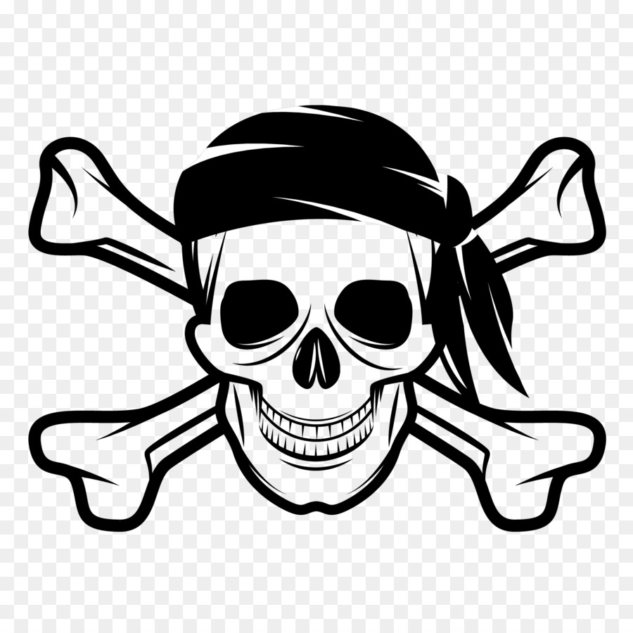 Clipart cross and skull bones png format transparent background vector black and white stock Skull And Crossbones png download - 1801*1795 - Free Transparent ... vector black and white stock