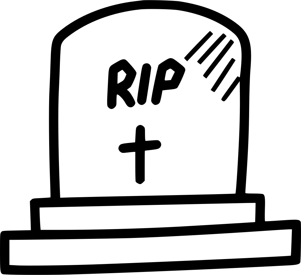 Clipart cross and the tomb vector library stock Grave Cemetery Tomb Stone Sepulchre Rip Svg Png Icon Free Download ... vector library stock