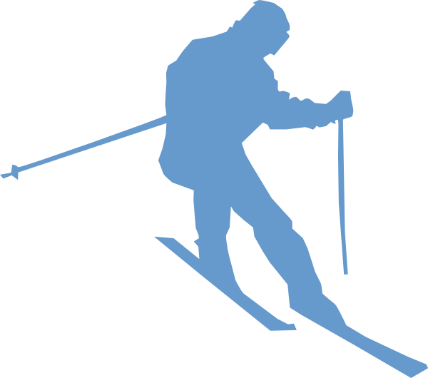 Cross country skier clipart. Ski clip art at