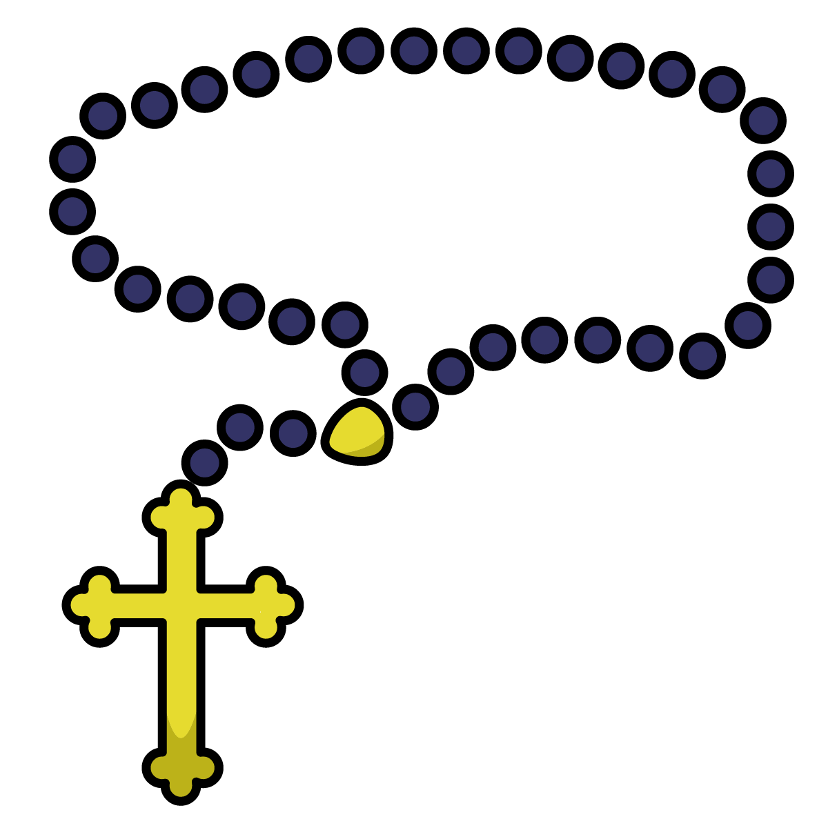 Cross and rosary clipart clip art royalty free library Pope Emojis Just Became a Thing. - LifeTeen.com for Catholic Youth clip art royalty free library
