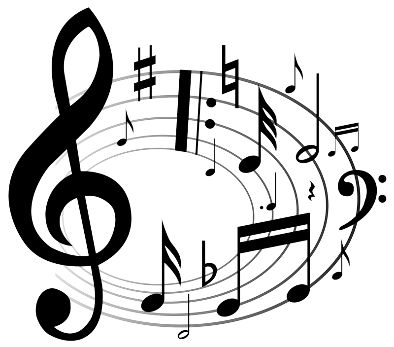 Music notes with cross clipart free library gif musique - Page 8 | Nutki | Pinterest | Musique free library