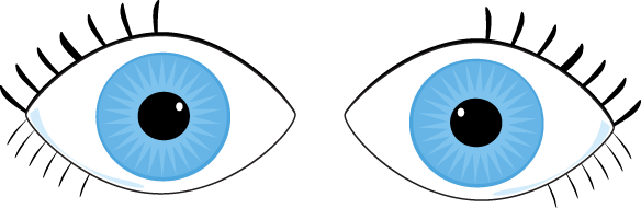 Two eyes clipart clip library Crossed eyes clipart - WikiClipArt clip library