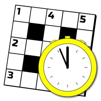 Clipart crossword puzzle graphic black and white library 5-Minute Crossword Puzzles graphic black and white library