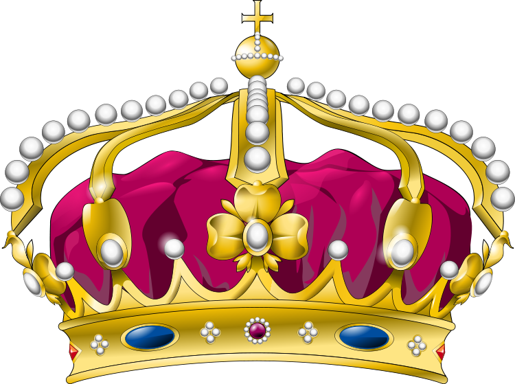 Crown for a queen clipart.  collection of transparent