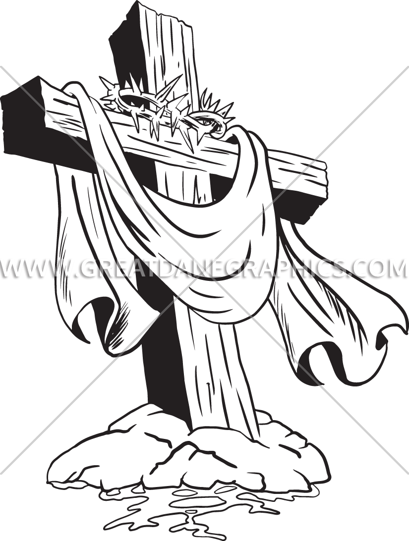 Cross with crown of thorns clipart clip free 28+ Collection of Cross With Crown Of Thorns Clipart | High quality ... clip free