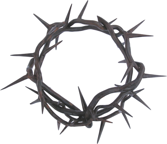 Cross with crown of thorns clipart clipart free library Crown of thorns Thorns, spines, and prickles Clip art - others 696 ... clipart free library