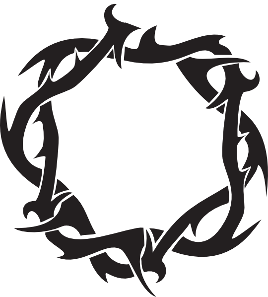 Clipart crown of thorns