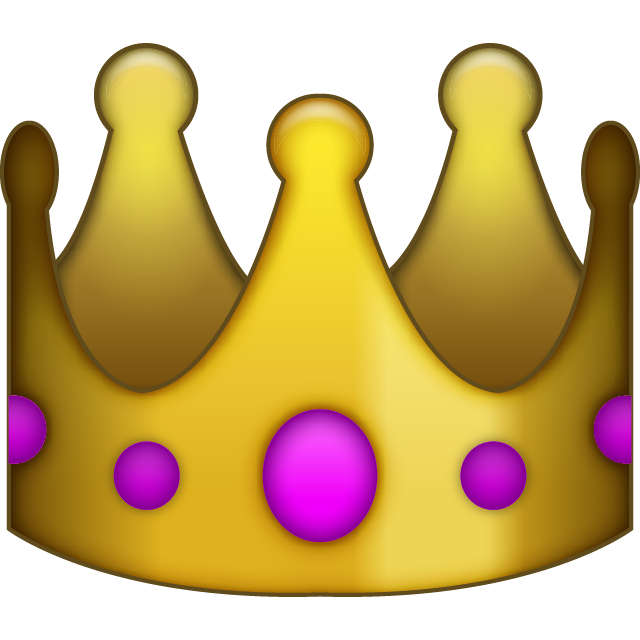 Clipart crown on top of the world svg black and white Download Queen's Crown Emoji | Emoji Island svg black and white