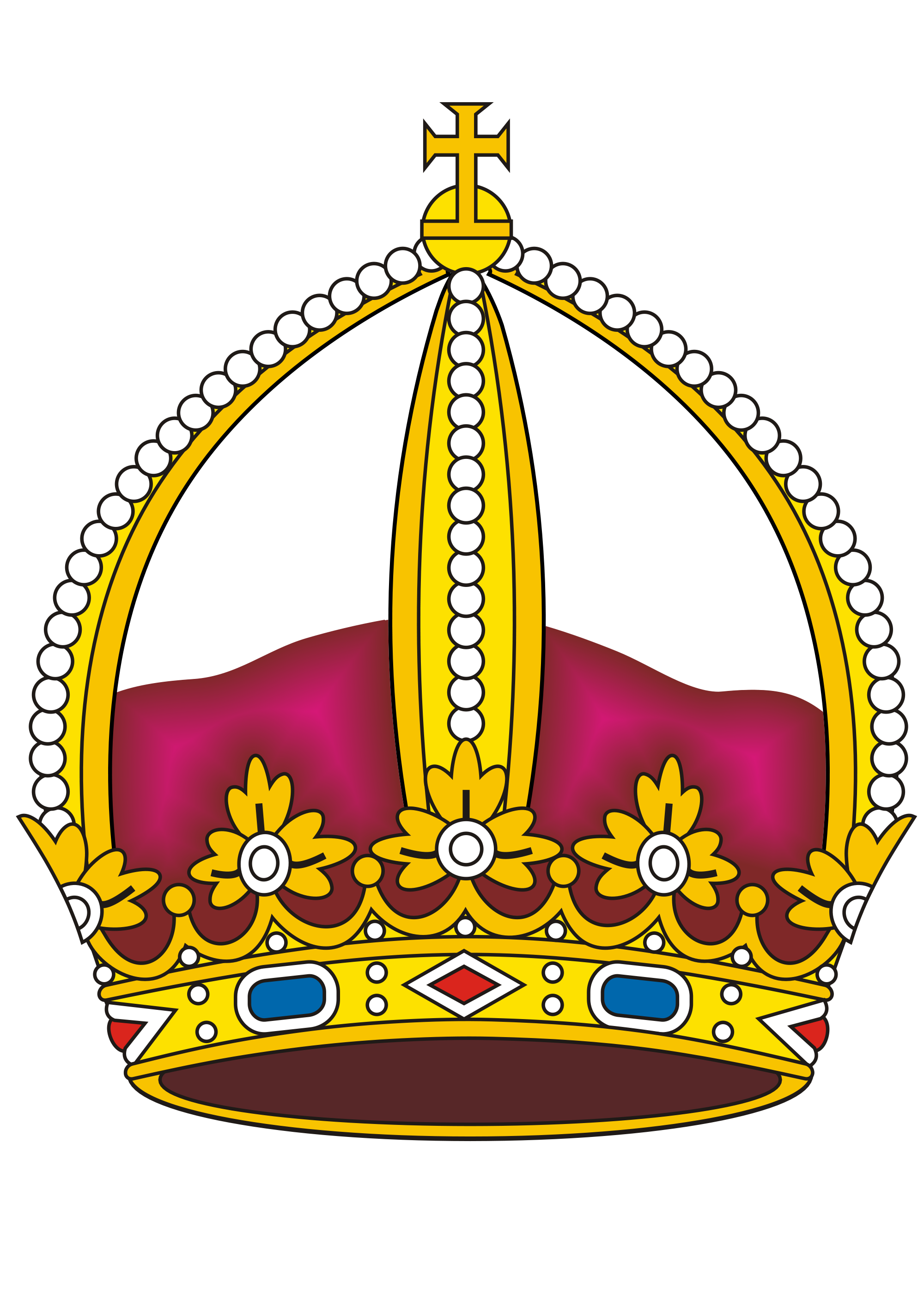 Clipart crown on top of the world graphic royalty free File:Brazil Prince Imperial Crown.svg - Wikimedia Commons graphic royalty free