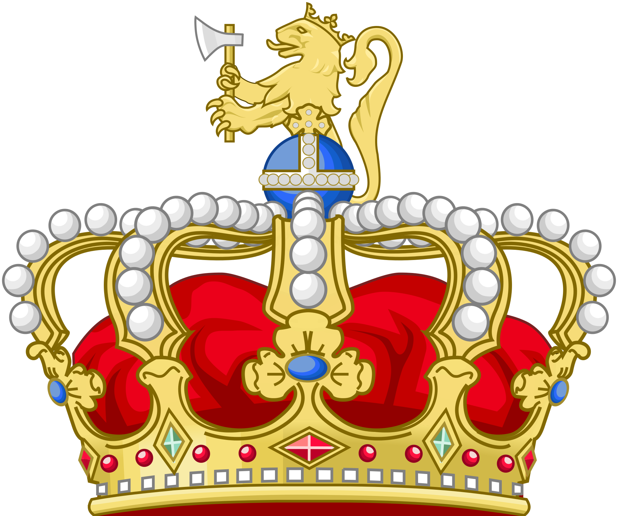Eagle wearing a crown clipart clip free norwegian royal crown - Google Search | Tattoos | Pinterest | Kings ... clip free