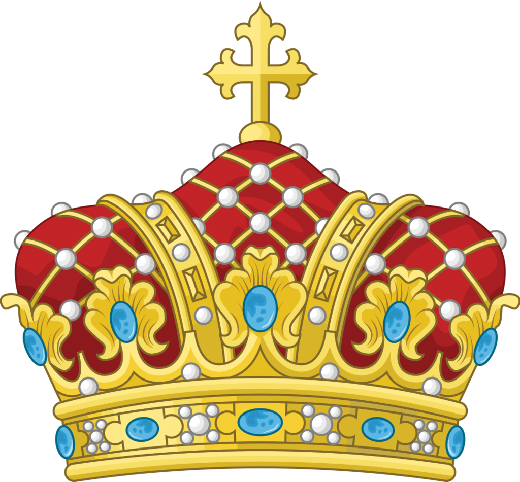 Clipart crown with german cross vector freeuse stock Andorra - Alternate coat of arms by Regicollis on DeviantArt ... vector freeuse stock