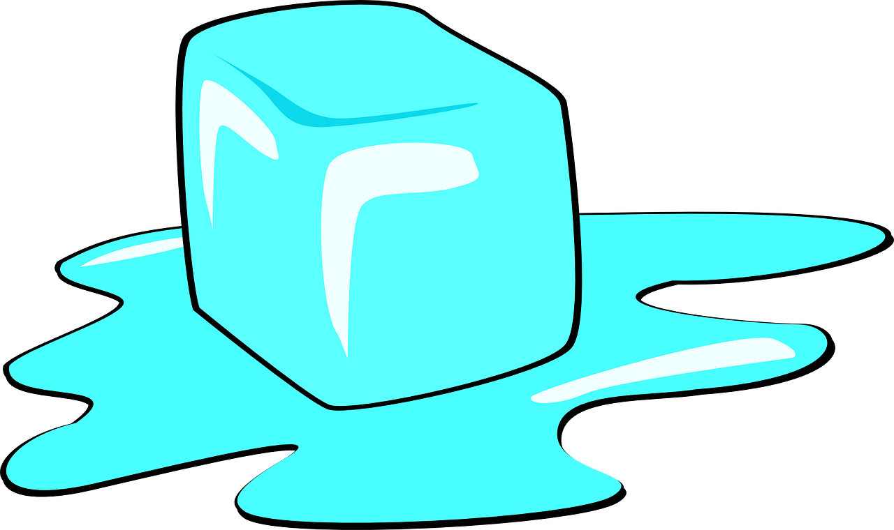 Clipart cube ice melting in the sun free stock Melt Ice Cube Ice Melting Blue PNG Image - Picpng free stock