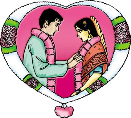 Clipart culture marriage jpg black and white library History of Tamil Marriage - palsdecors jpg black and white library