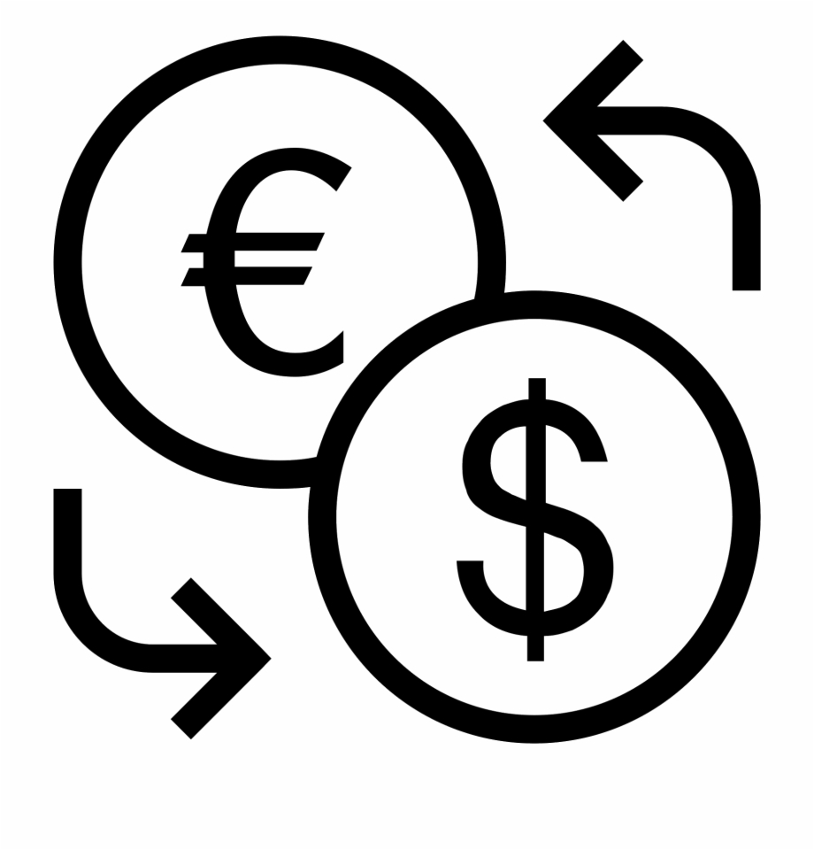 What is the currency of clipart svg download Currency Exchange Icon - Currency Exchange Clipart Free PNG Images ... svg download