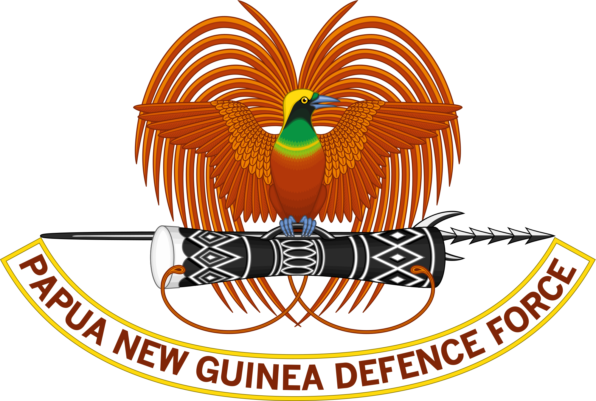 Clipart loop news madang image black and white stock Papua New Guinea Defence Force - Wikipedia image black and white stock
