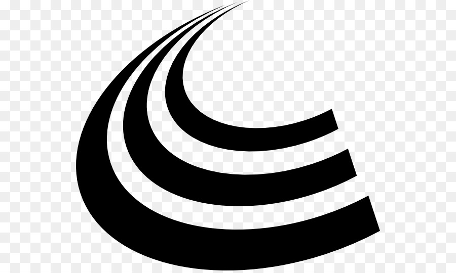 White Circle clipart - Curve, Line, Font, transparent clip art graphic black and white stock