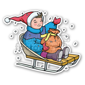 Sled clipart 300x300 svg stock sledding clipart - Royalty-Free Images | Graphics Factory svg stock
