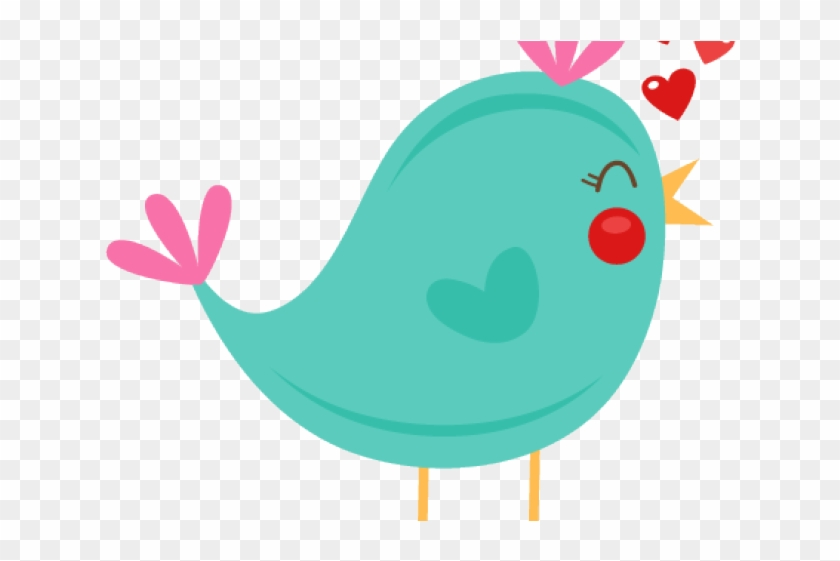 Clipart cute bird picture black and white stock Bird Clipart Valentines - Cute Bird Clip Art Png, Transparent Png ... picture black and white stock