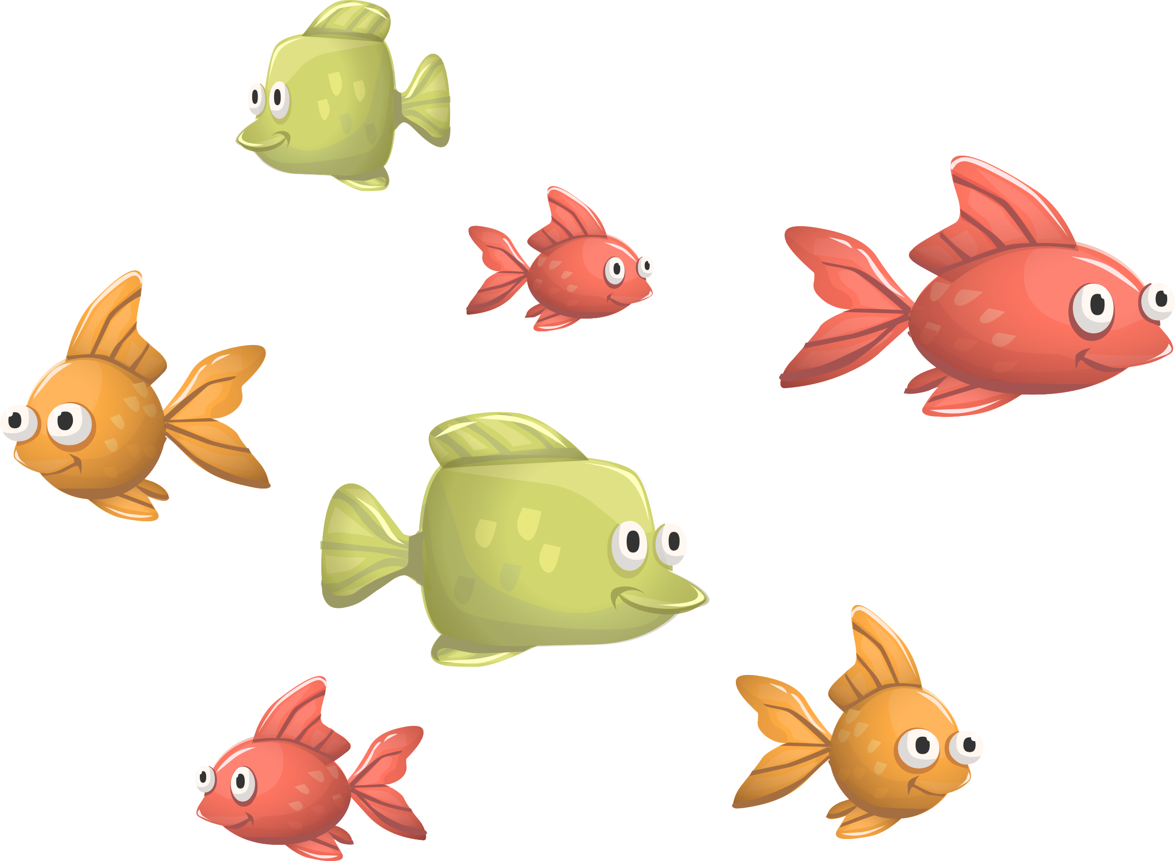 Funny from glitch big. Cute fish clipart png