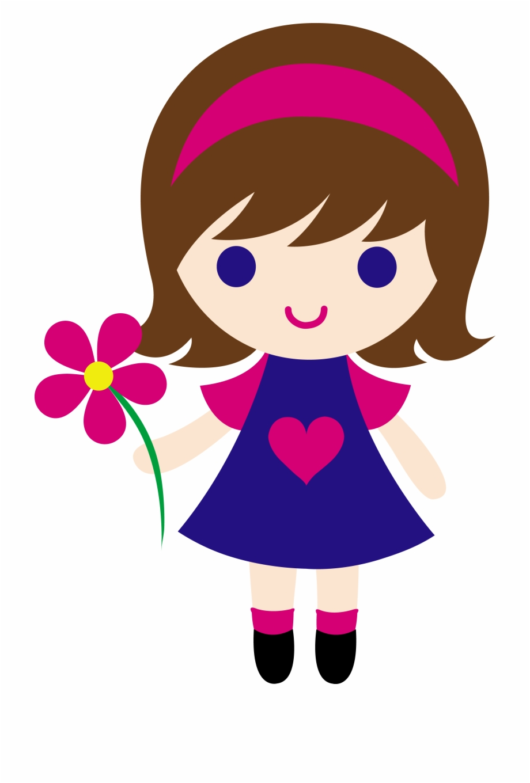 Little girl cartoon clipart png freeuse library Cute Girl Clipart Clip Art - Little Girl Clipart Free PNG Images ... png freeuse library