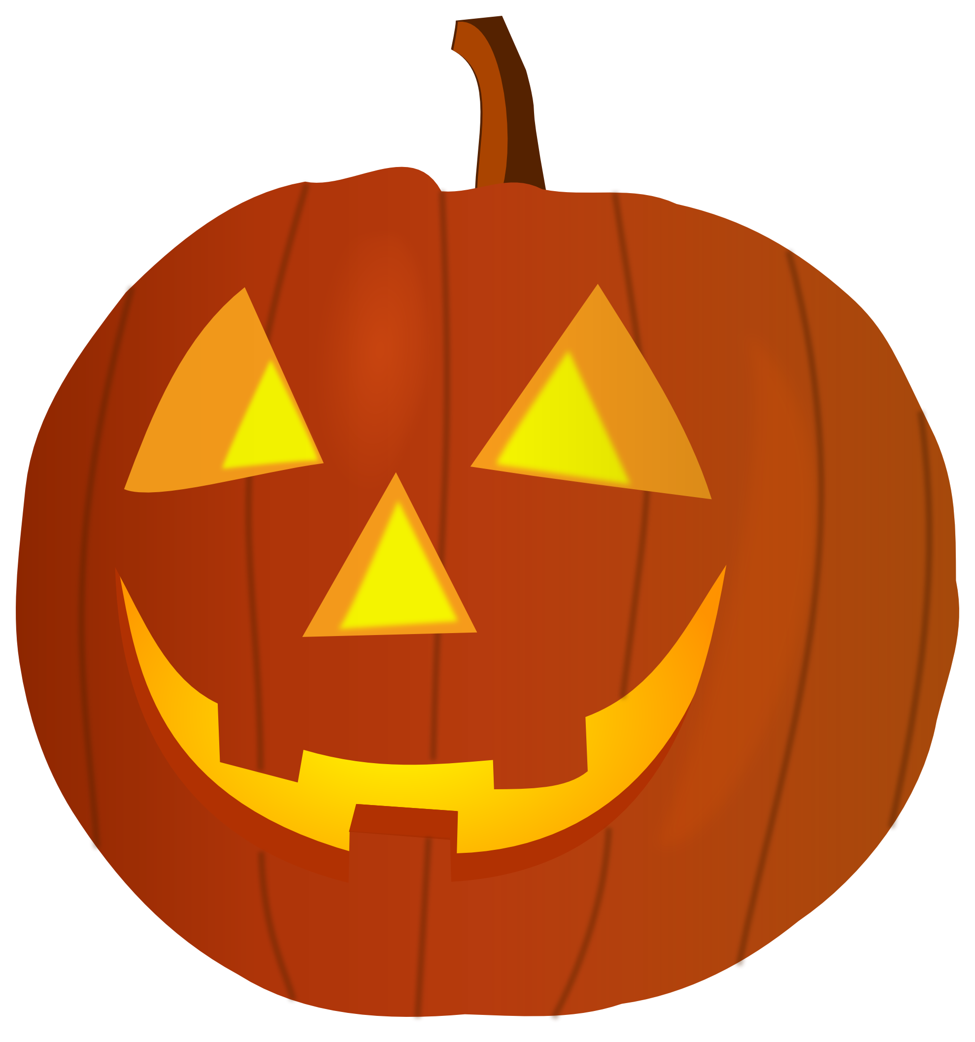 Happy Halloween Pumpkin Clipart | cyberuse image stock