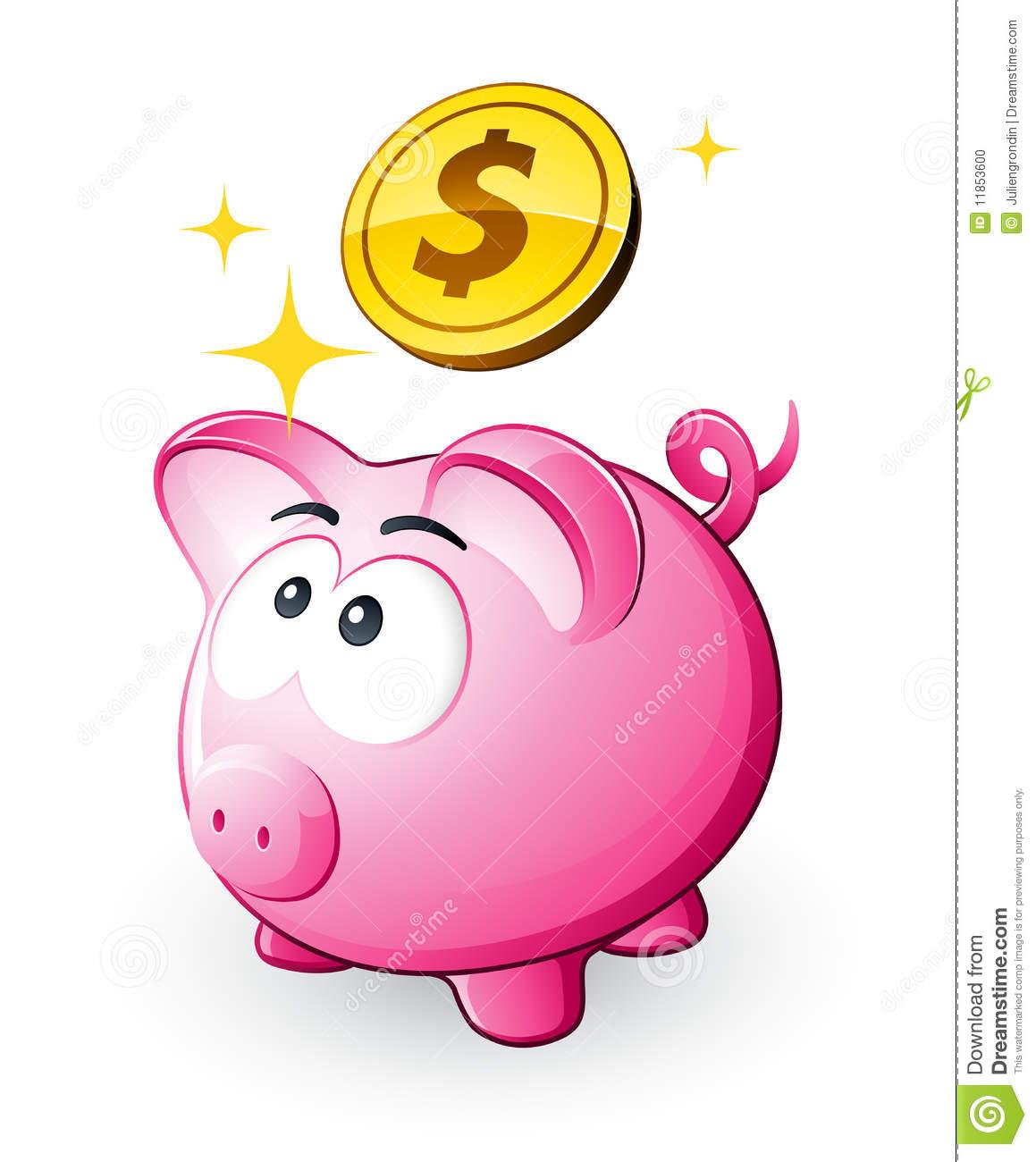 Poor . Clipart cute piggy bank
