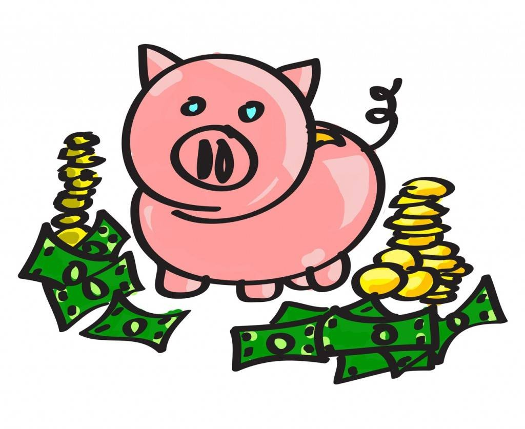 Piggy Bank Clip Art - Clipartion.com clip art transparent library