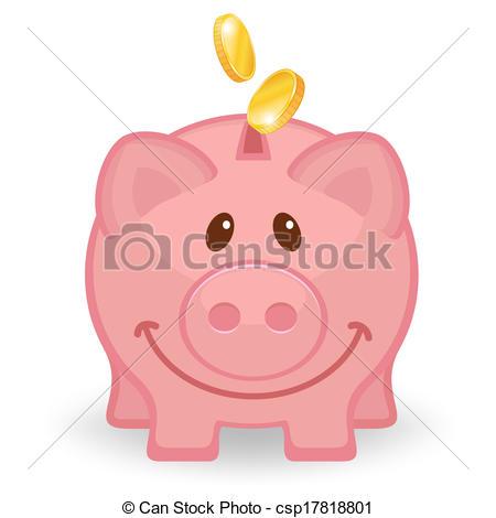 Smiling resolution x . Clipart cute piggy bank