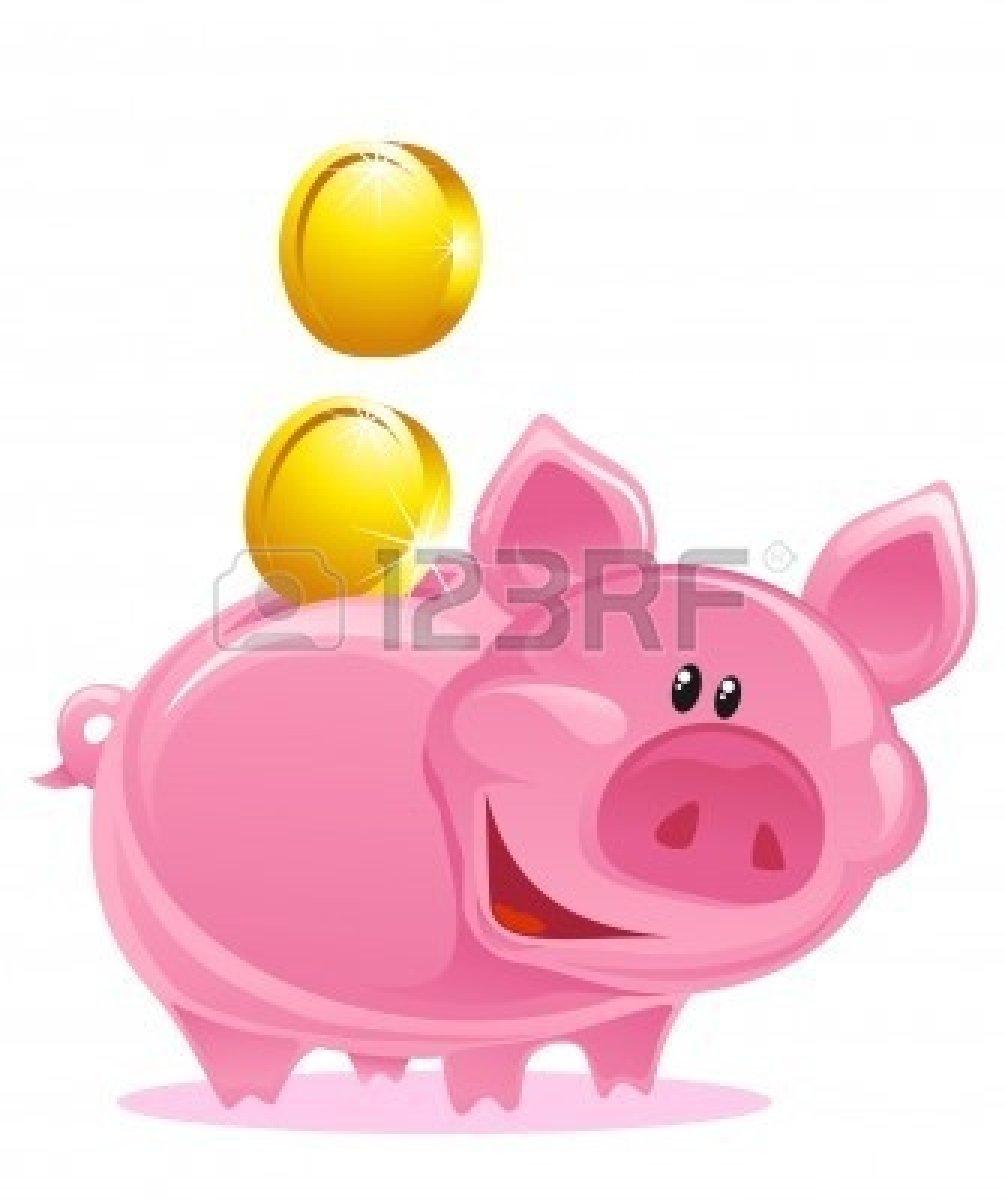 Kid panda free images. Clipart cute piggy bank