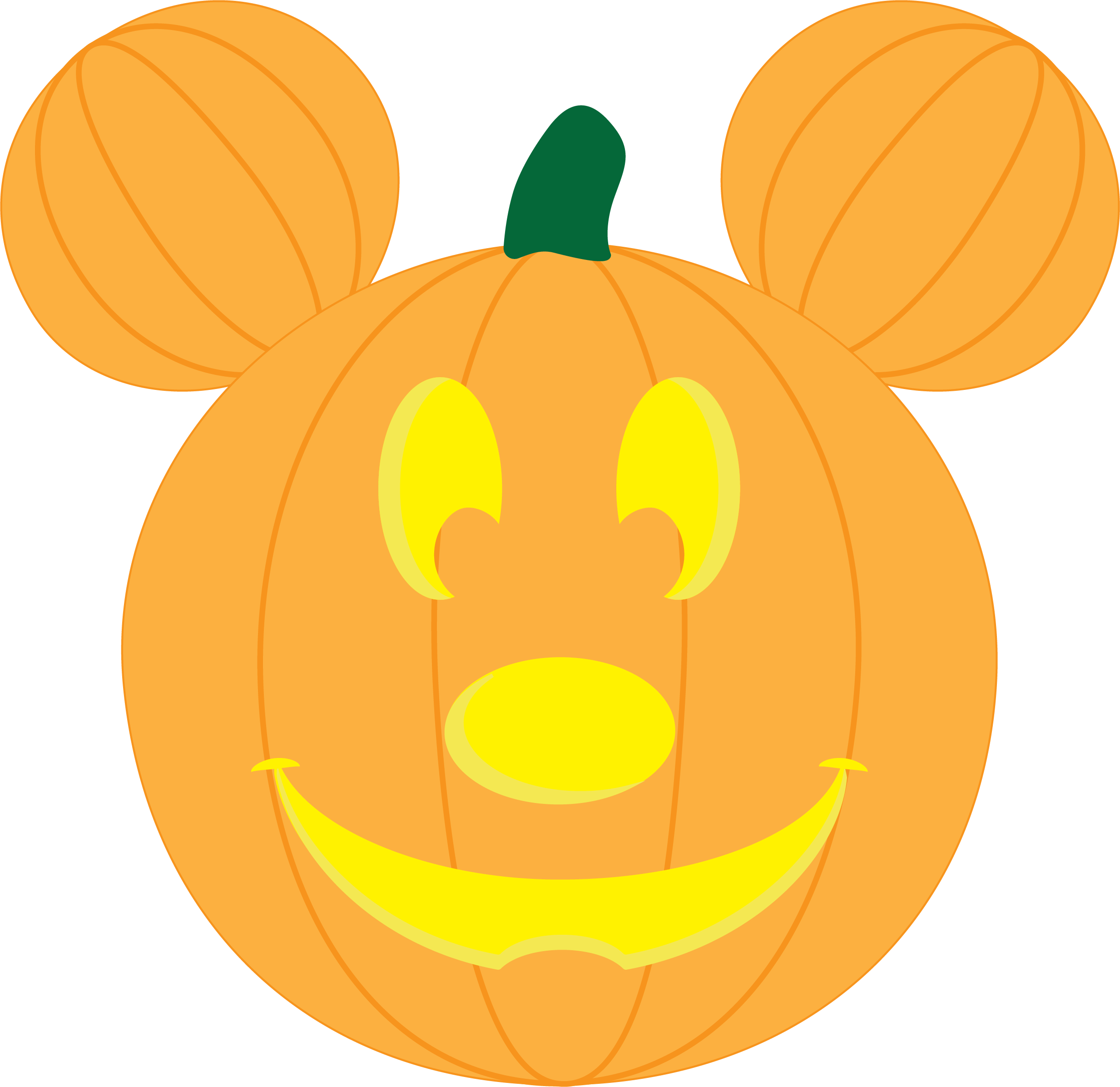 Pumpkin shirt clipart svg black and white download DIY Mickey Pumpkin Shirt - Liz on Call svg black and white download
