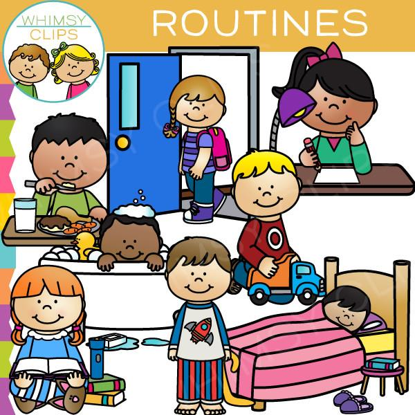 Clipart daily routine svg library Daily Routine Clipart | Free download best Daily Routine Clipart on ... svg library