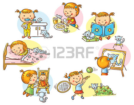 Clipart daily routine png black and white 61+ Daily Routine Clipart | ClipartLook png black and white