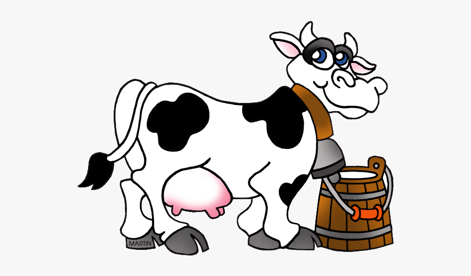 Running cow clipart png library download Dairy Cow Clipart - Milking Cow Clipart , Transparent Cartoon, Free ... png library download