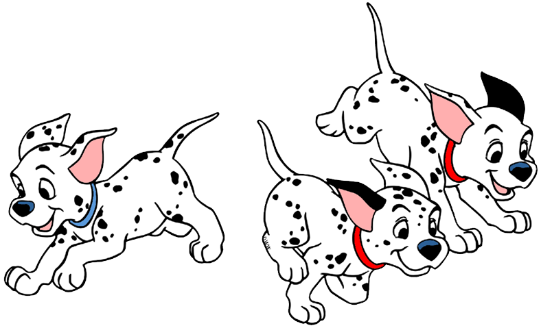 Dalmatian fire dog clipart clipart royalty free stock 101 Dalmatians Puppies Clip Art | Disney Clip Art Galore clipart royalty free stock