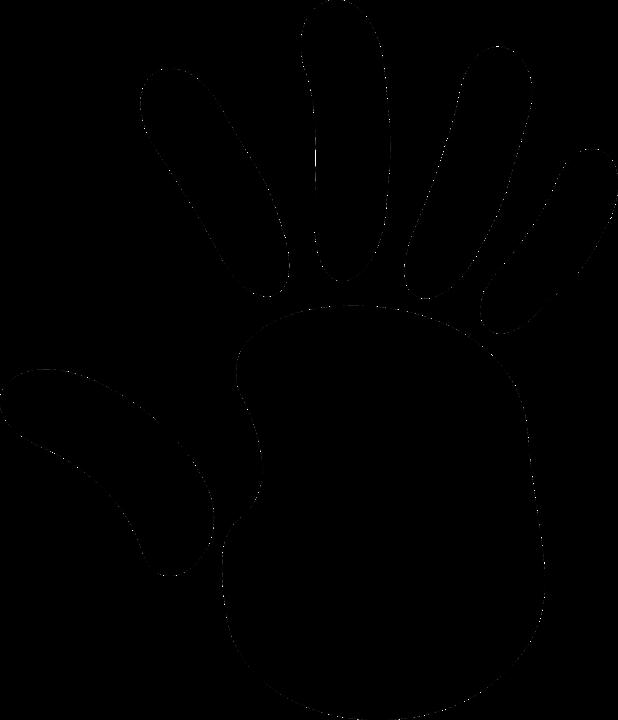 Clipart daumen drcken kostenlos vector freeuse stock Kostenlose Vektorgrafik: Hand, Form, Drucken, Finger, Daumen ... vector freeuse stock