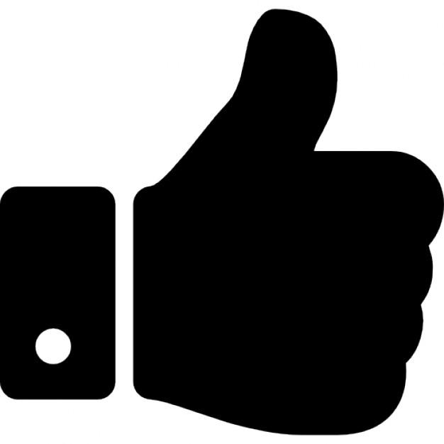 Clipart daumen drcken kostenlos svg transparent library Daumen hoch Hand Zeichen | Download der kostenlosen Icons svg transparent library