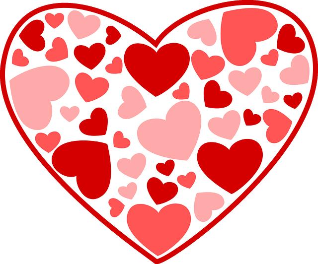 Imagenes de clipart gratis image library library Imagen gratis en Pixabay - Corazones, El Amor, Rosa, Rojo ... image library library