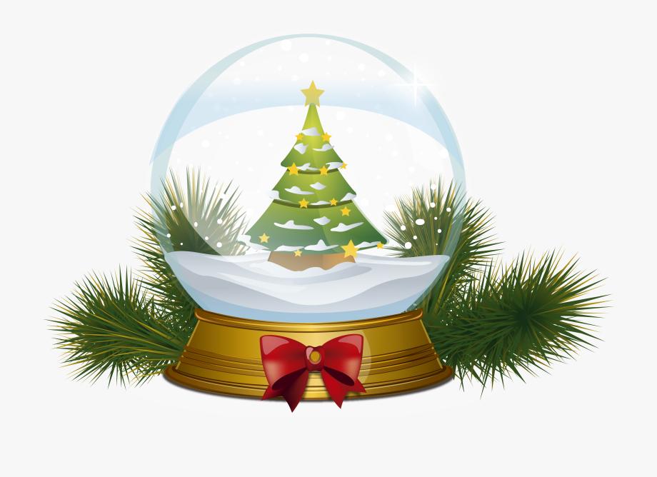 Clipart de natal clip art transparent stock Christmas Tree Snowglobe Png Clipart Image - Bola De Vidro De Natal ... clip art transparent stock