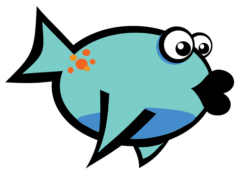 Fish kiss clipart. Dead at getdrawings com