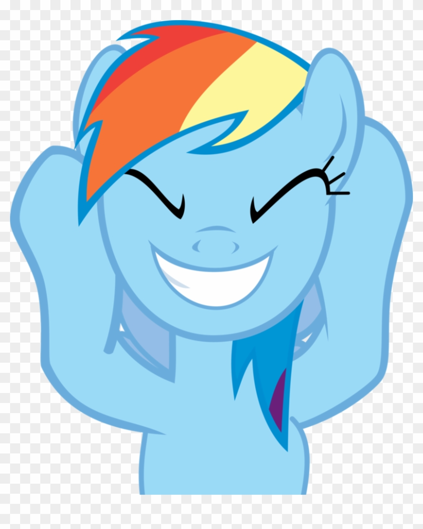 Clipart decompressor image black and white stock Dash Cheering In The Crowd By Decompressor - Rainbow Dash Vector Gif ... image black and white stock